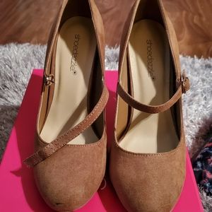 Beautiful suede Mary janes